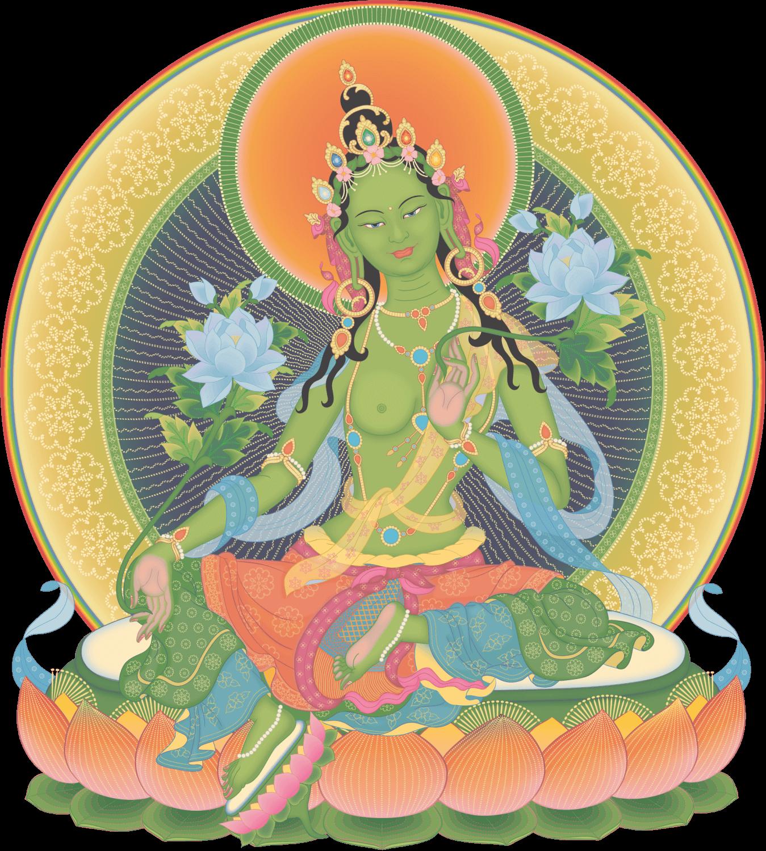 Meditación en Tara Verde