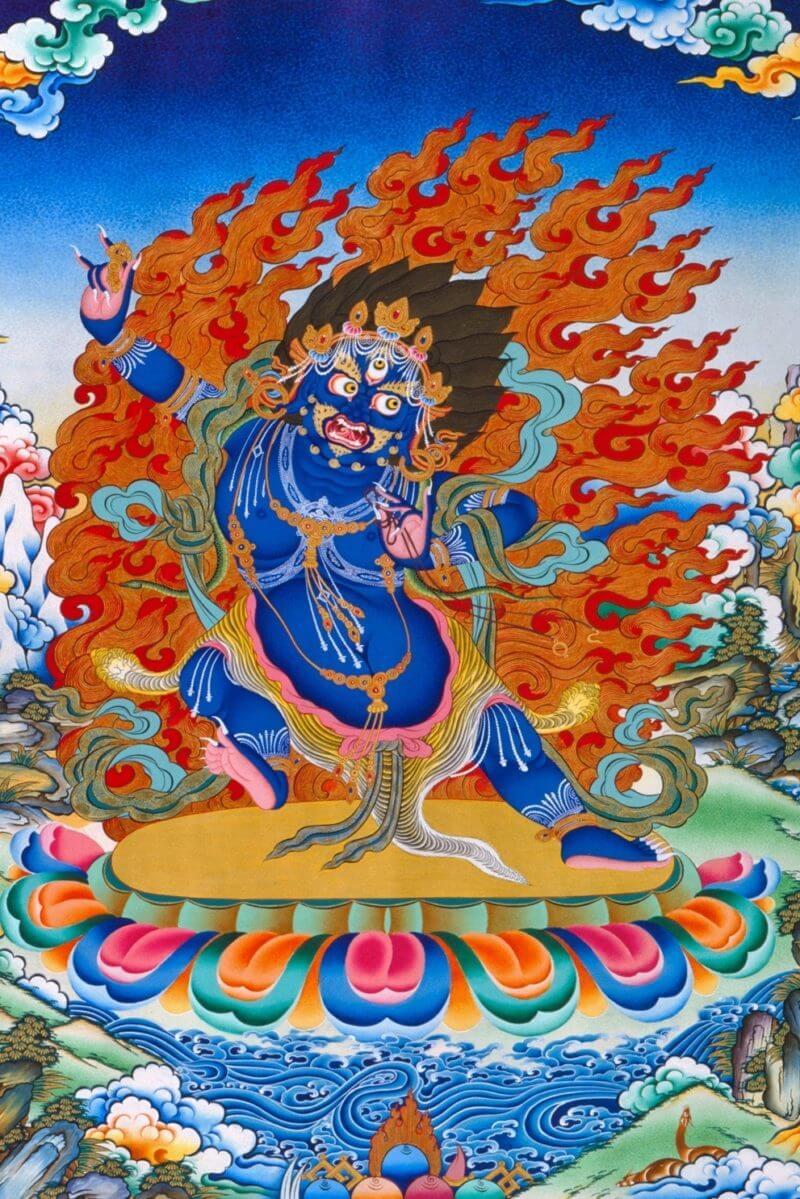 Práctica de Meditación de Vajrapani