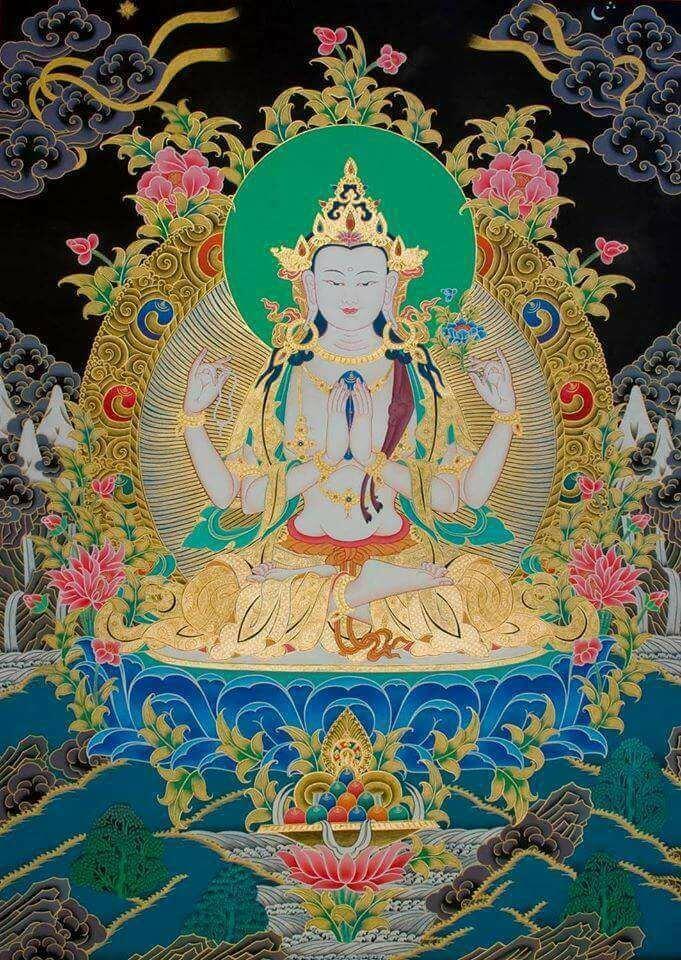 Práctica de Chenrezig, Buda de la Compasión