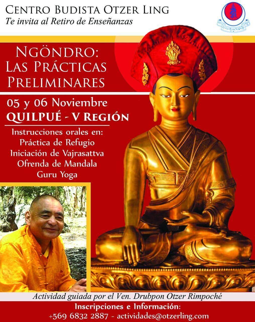 Retiro Ngondro – Quilpue