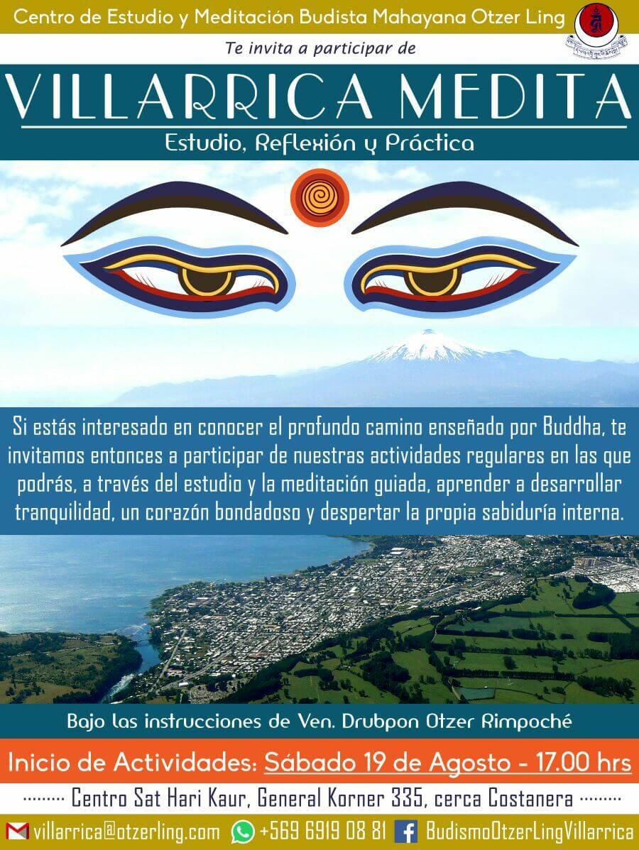 Villarrica Medita, Taller Dharma en el día a día