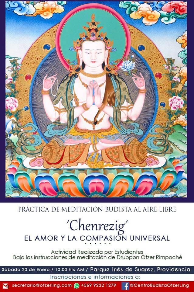 Práctica de Meditación Budista al Aire Libre