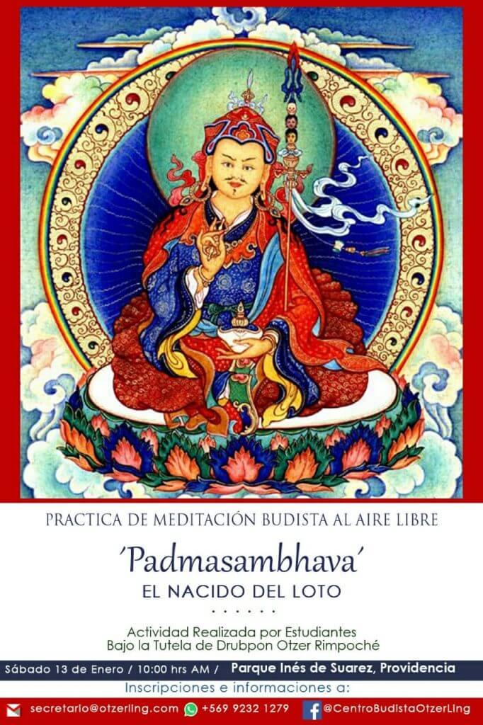 Meditación Budista al Aire Libre