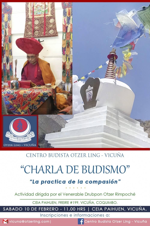 Charla Pública Budismo en Vicuña-Valle del Elqui