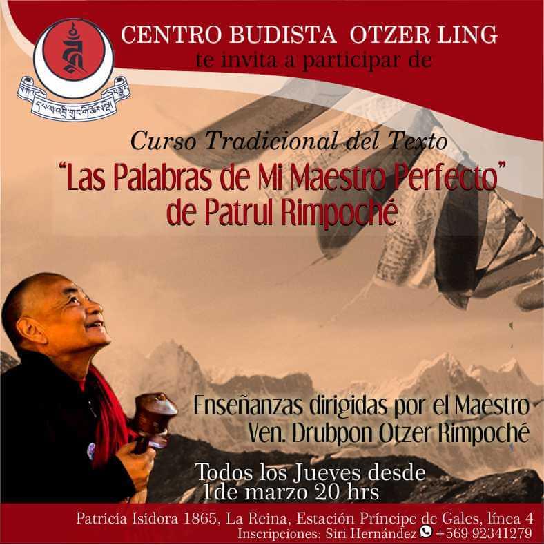 Estudio del Texto: «Las Palabras de Mi Maestro Perfecto» de Patrul Rimpoche