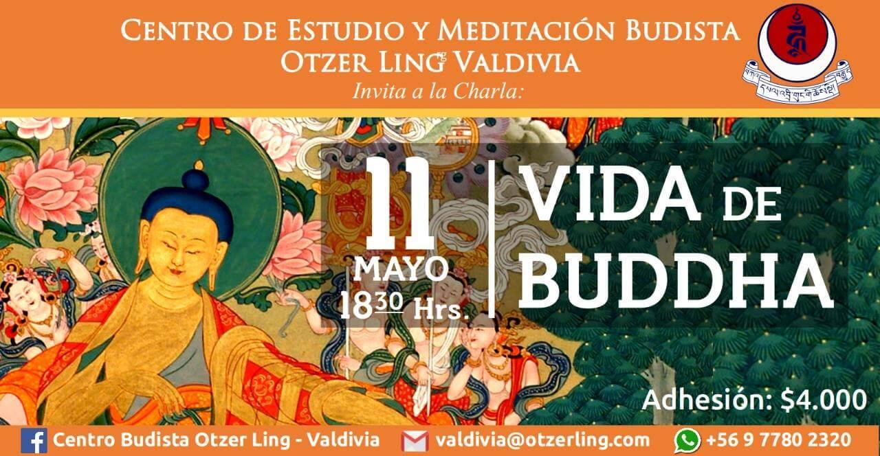 """Charla """"Vida de Buddha"""""""