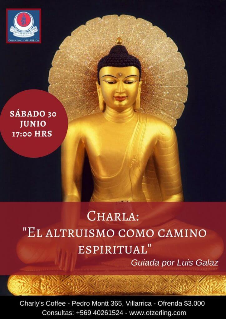 Charla: «El altruismo como camino espiritual»