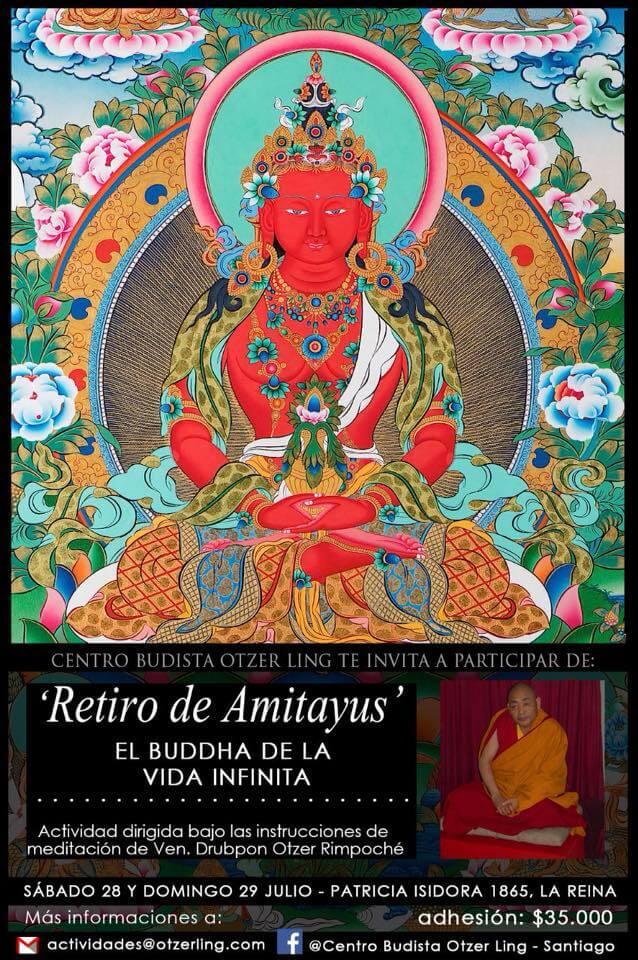 Retiro de Amitayus: El Buddha de la Vida Infinita