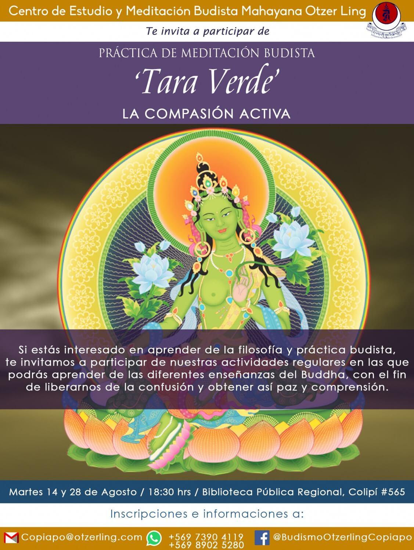 Práctica Meditativa 'Tara Verde, La Compasión Activa'