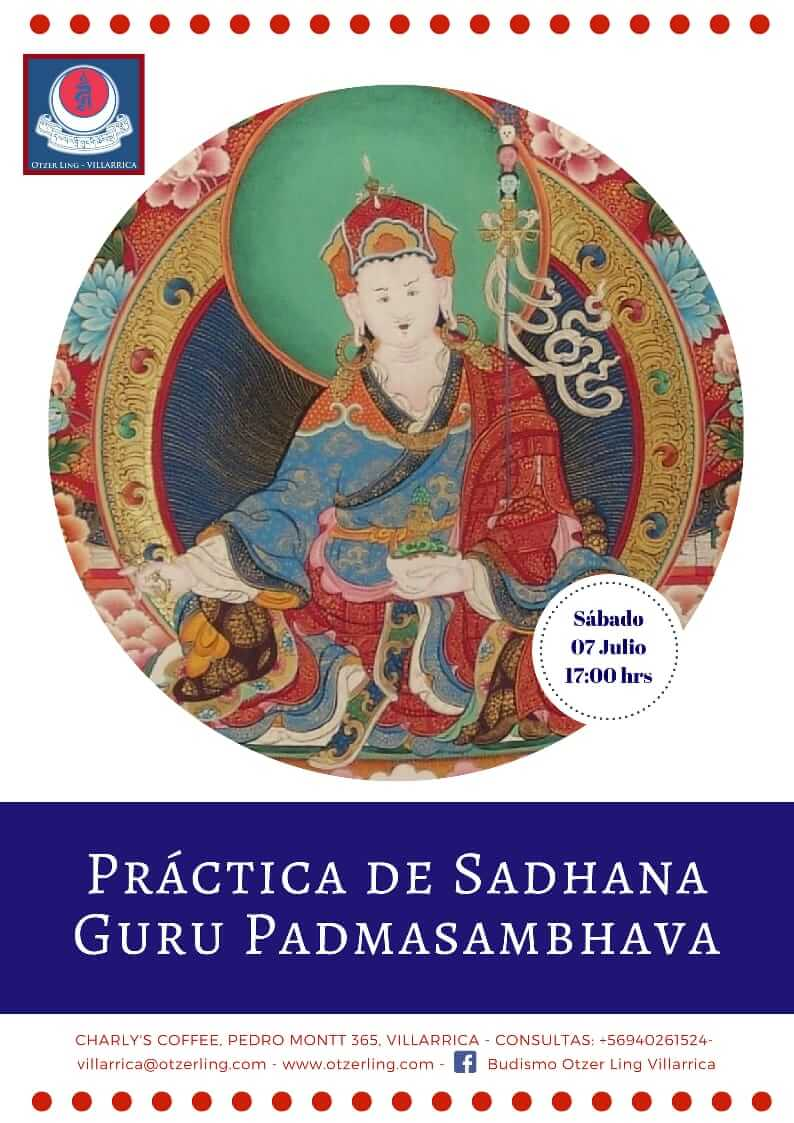 Práctica de Sadhana Guru Padmasambhava