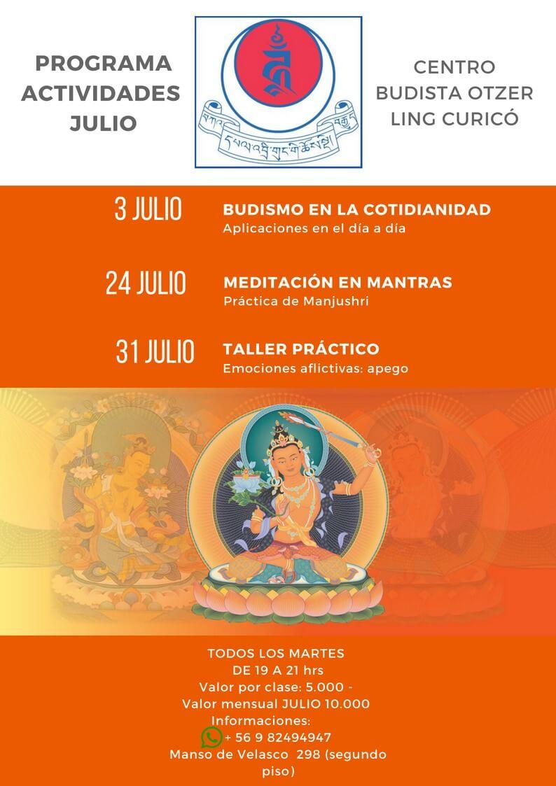 JULIO: Prácticas semanales, martes de 19hrs a 21hrs !