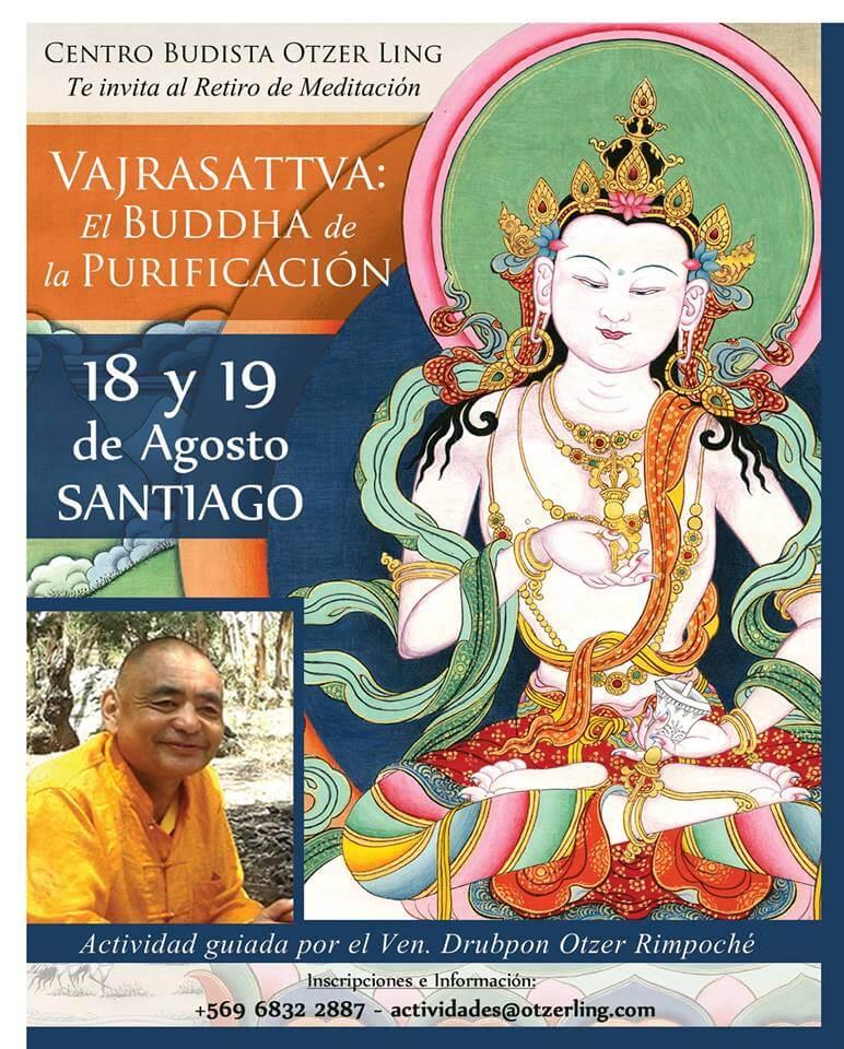 Retiro de Vajrasattva: El Buddha de la Purificación