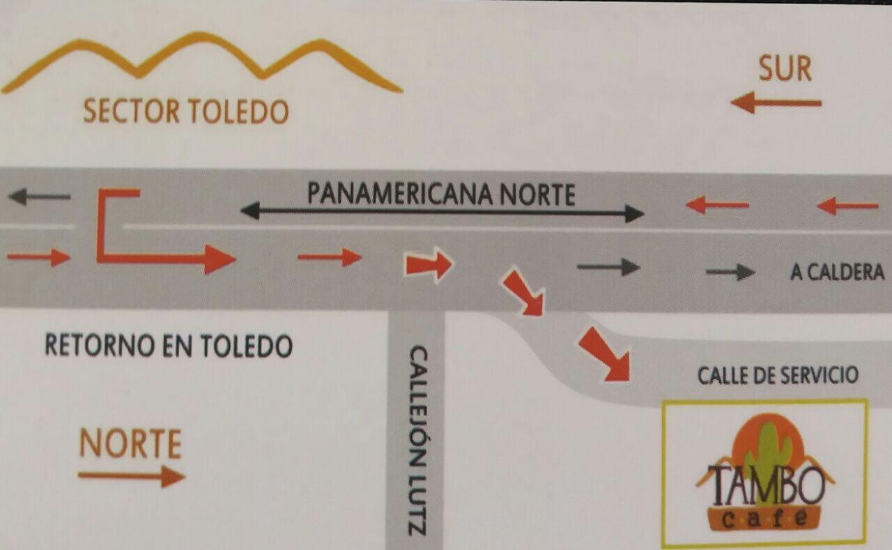 Mapa Tambo Café
