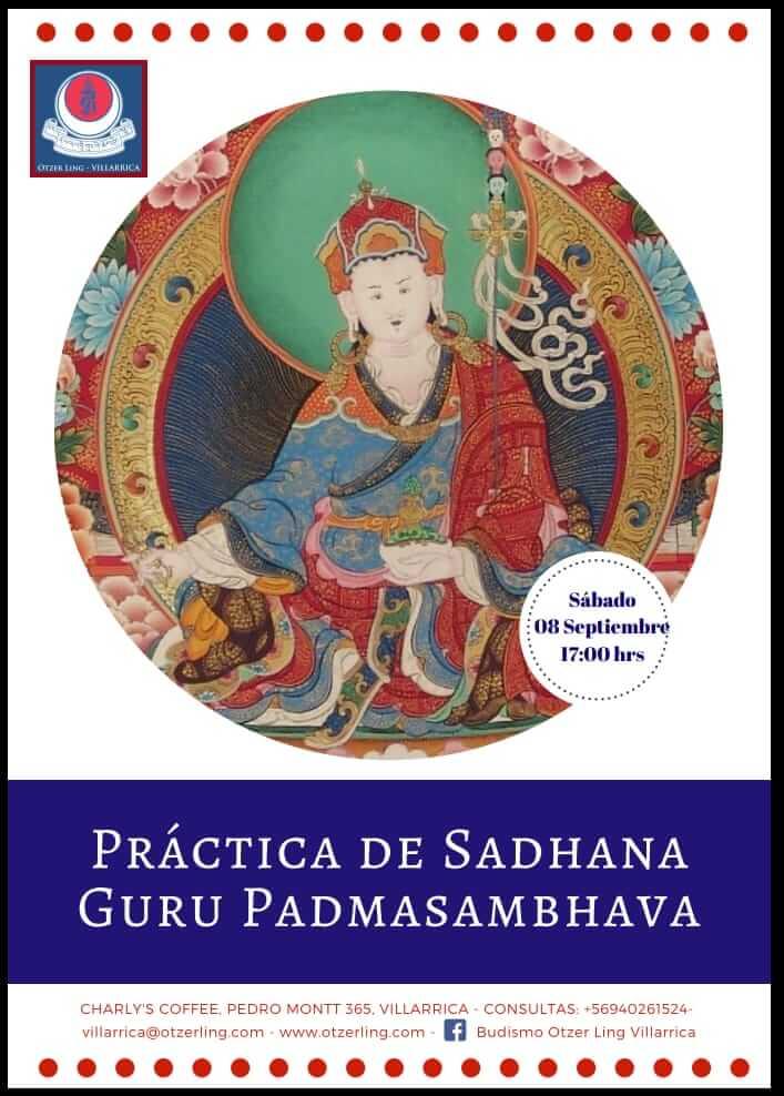 Práctica de Meditación Sadhana Gurú Padmasambhava