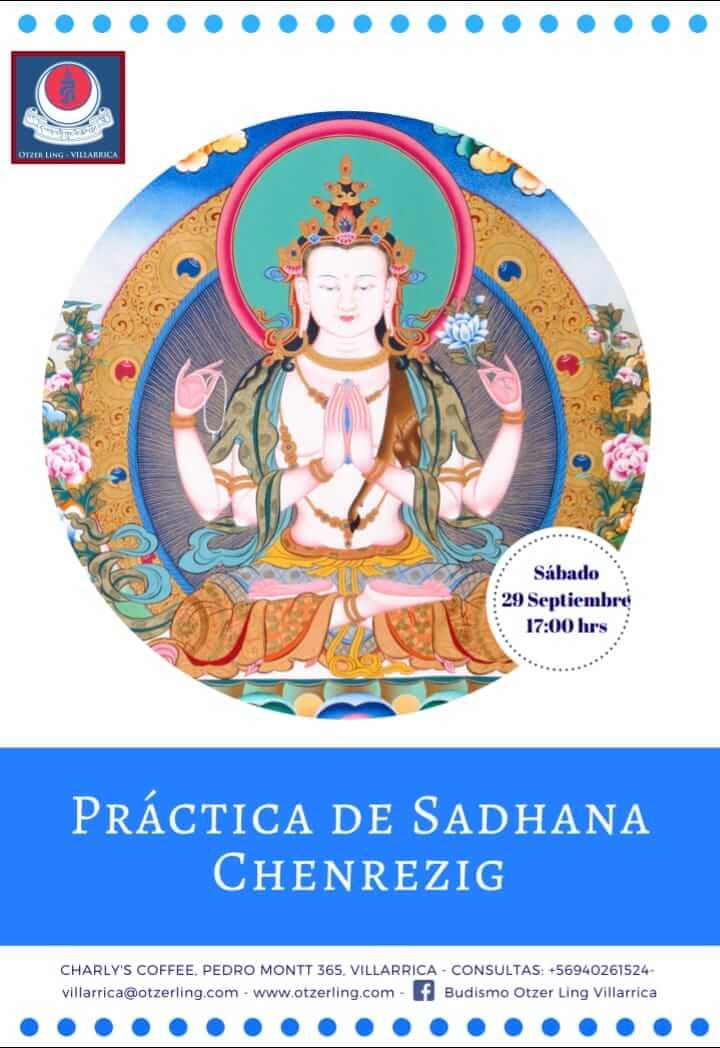 Práctica Sadhana de Chenrezig