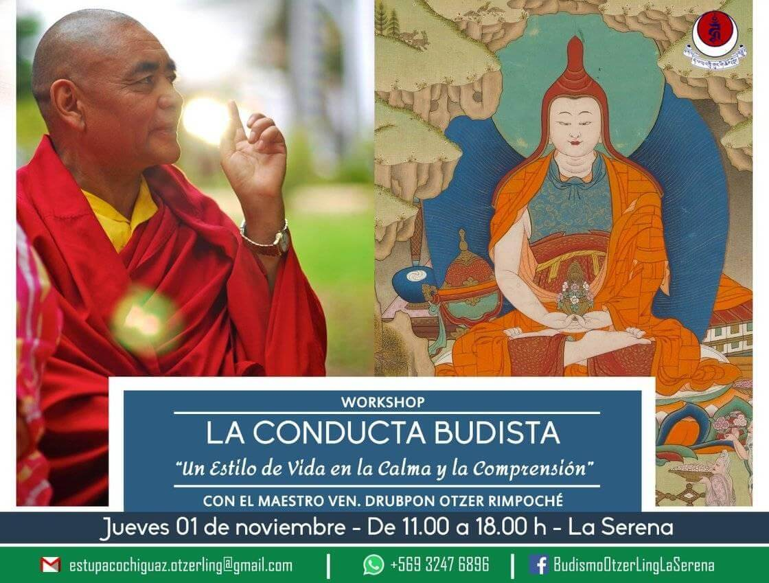 WORKSHOP LA CONDUCTA BUDISTA