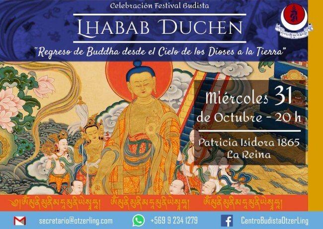 Celebración Festiva Budista: «Lha Bab Duchen»