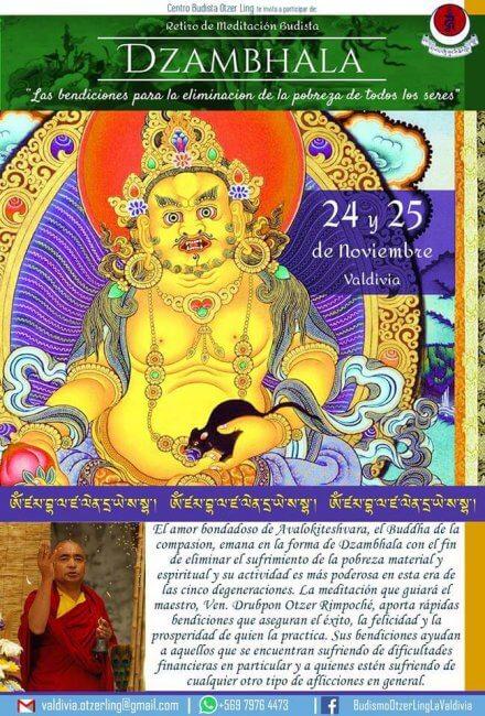 Retiro de Meditación Dzambhala