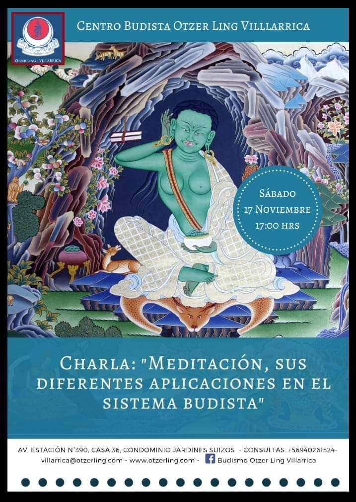 Meditación, sus diferentes aplicaciones en el sistema budista