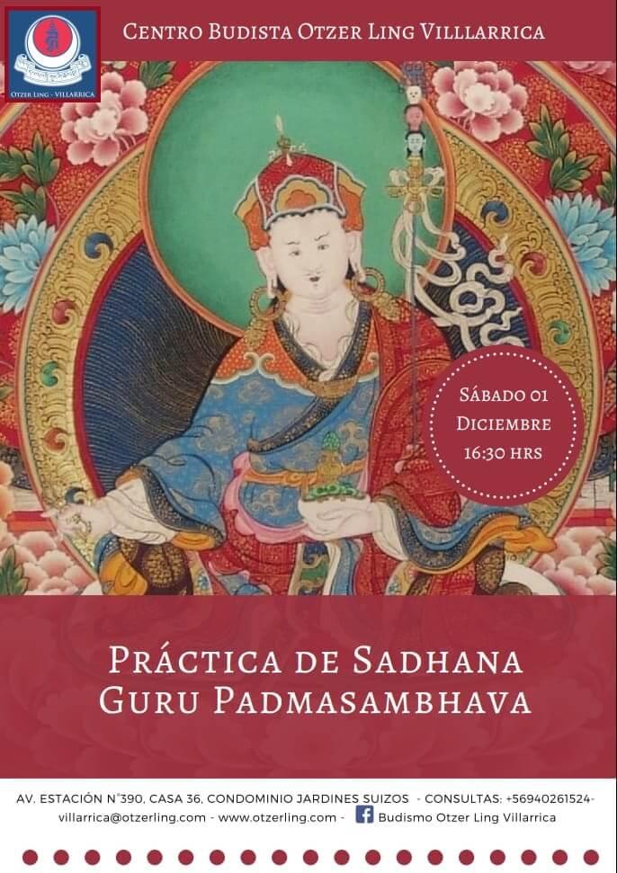 "Práctica de Sadhana ""Guru Padmasambhava"""
