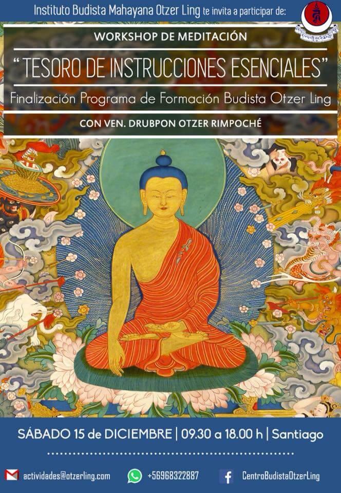 Finalización de Programa de Formación Budista: Tesoro de Instrucciones Esenciales
