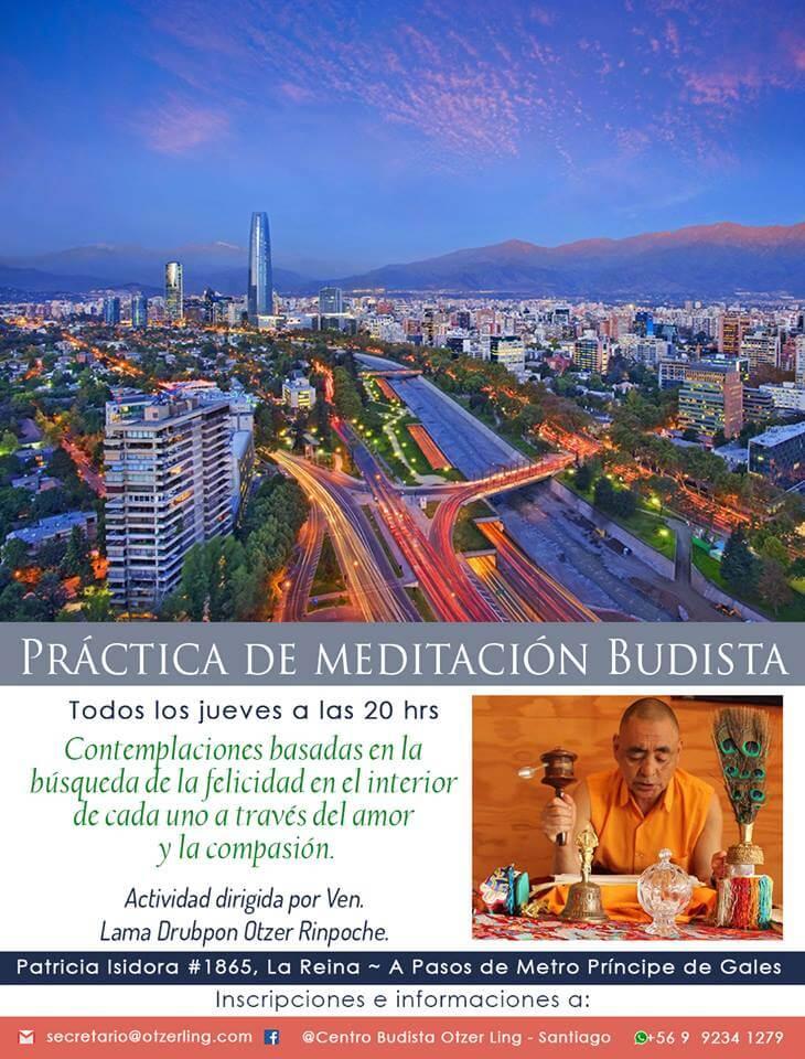 Práctica de Meditación Budista