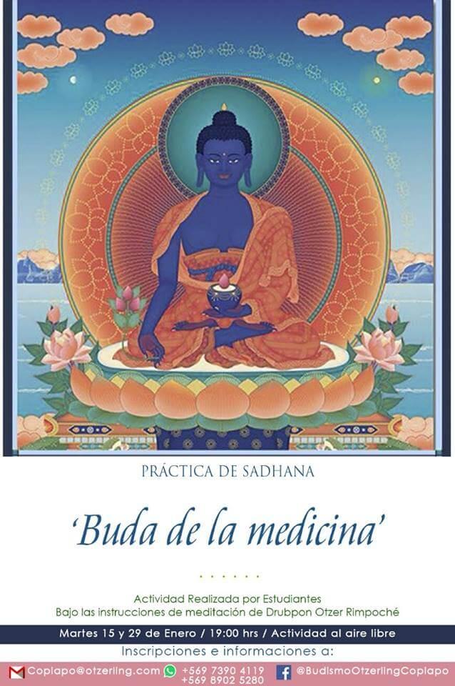 Práctica de Sadhana: Buddha de la Medicina