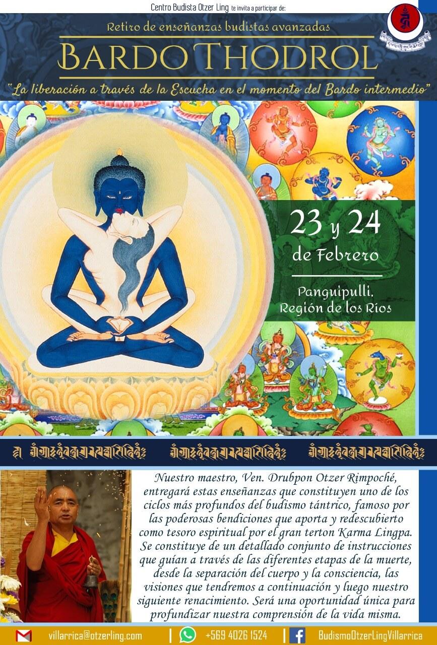 Retiro de Enseñanzas Budistas Avanzadas «Bardo Thodrol»