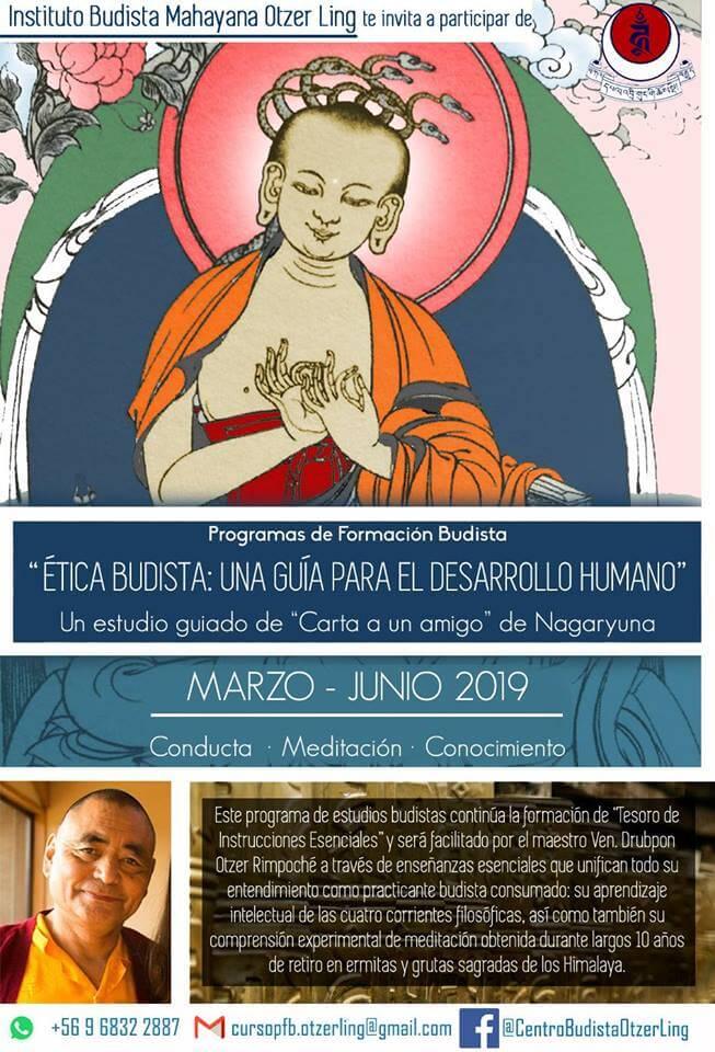 Programa de Formación Budista: Ética budista – Una guía para el desarrollo humano
