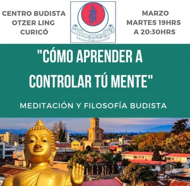 Actividades en Marzo: ¿Cómo aprender a controlar tú mente?
