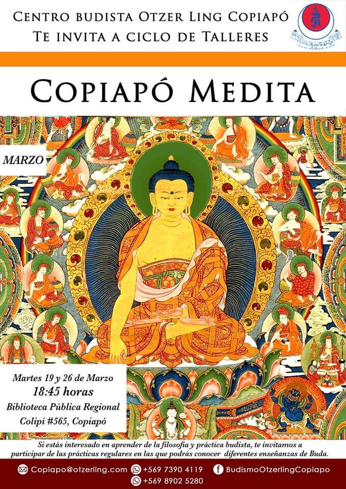Ciclo de Talleres: Copiapó Medita