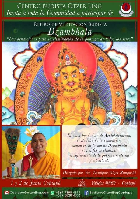 Retiro de Meditación Budista: Dzambhala, El Amor Bondadoso