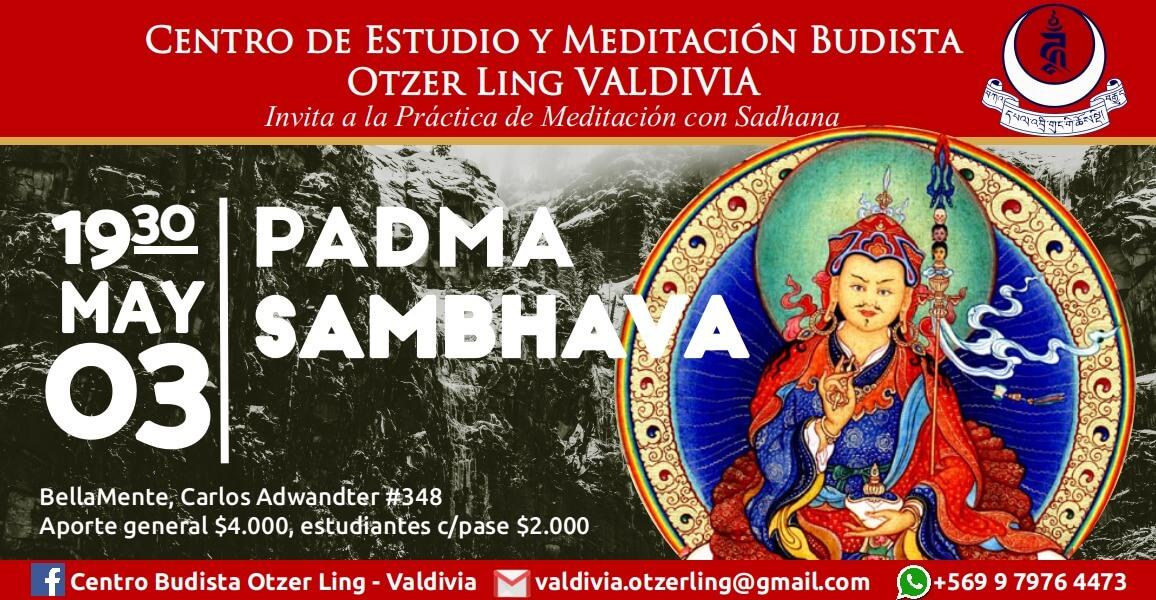 Práctica de Meditación con Sadhanas: Padmasambhava