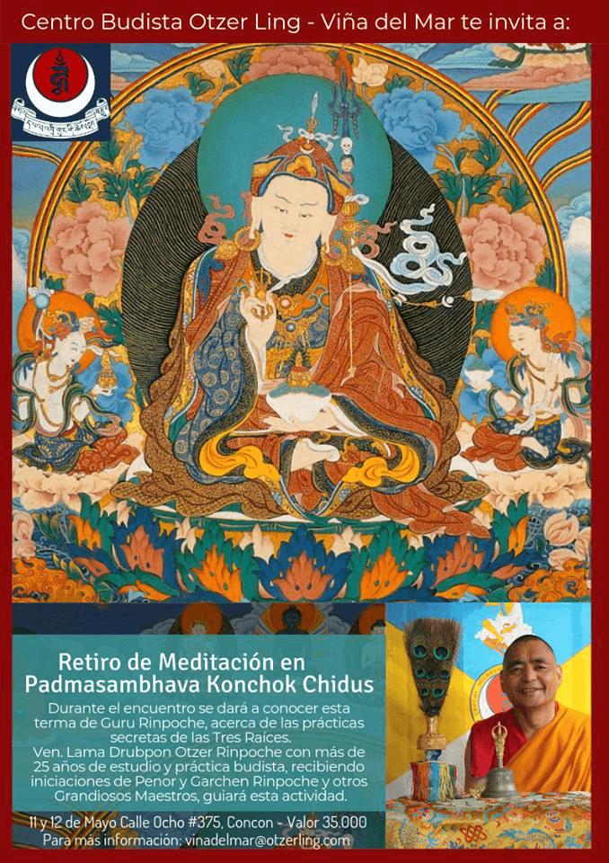 Retiro de Padmasambhava, Gurú Rimpoché