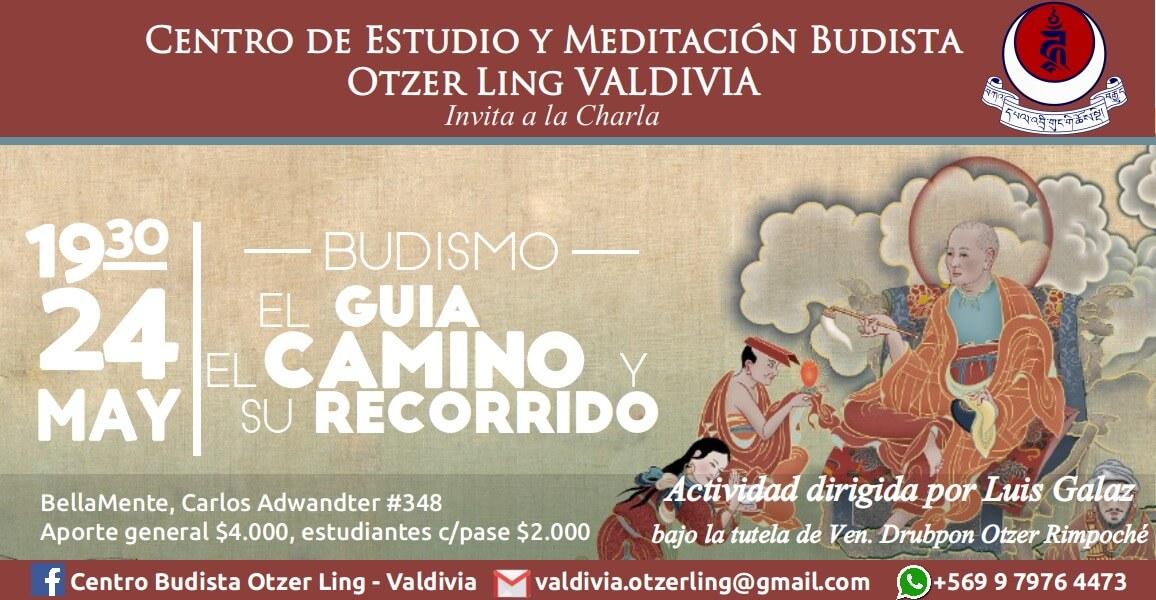 Budismo; El guia, el camino y su recorrido.