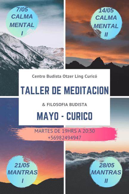 Taller de Meditación – Mayo