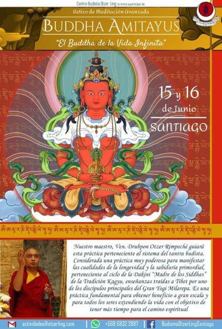 Retiro de Buddha Amitayus – El Buddha de la Vida Infinita