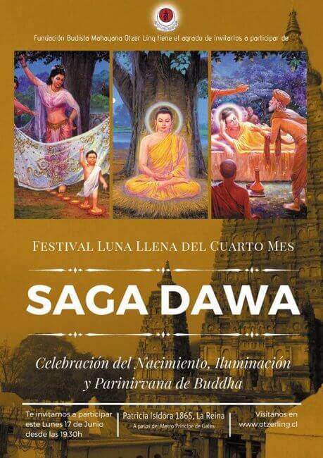 Celebración Budista Luna Llena del Cuarto Mes – Saga Dawa