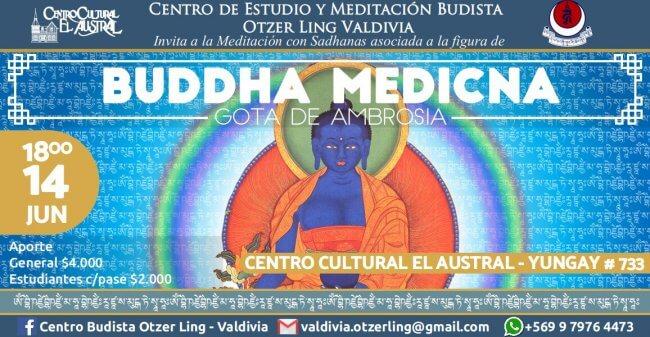 Buddha Medicina; gota de ambrosia
