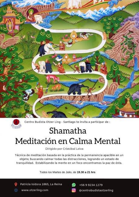 Shamatha: Meditación en Calma Mental