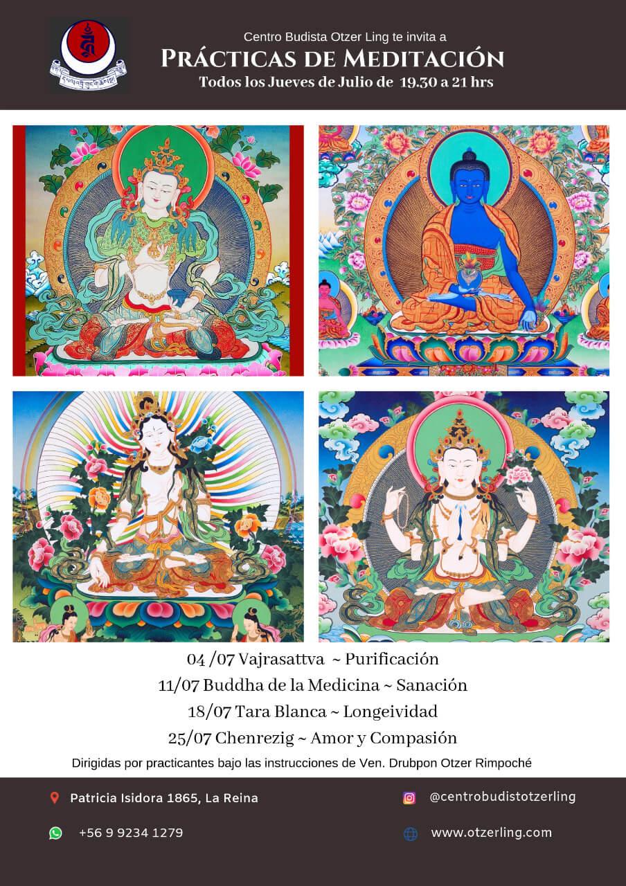 Prácticas de Meditación Budistas