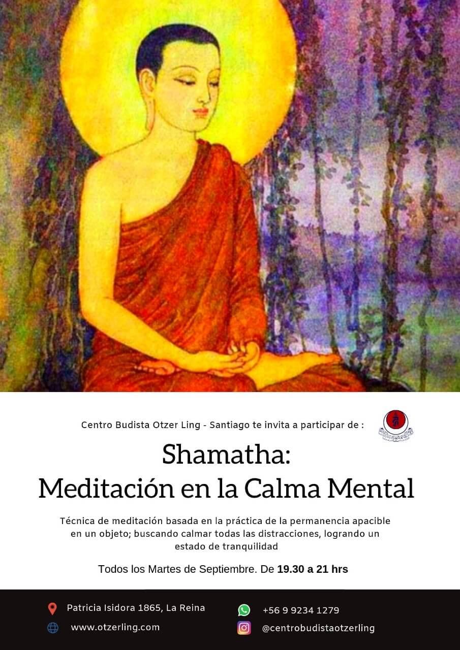Shamatha: Meditación en la Calma Mental