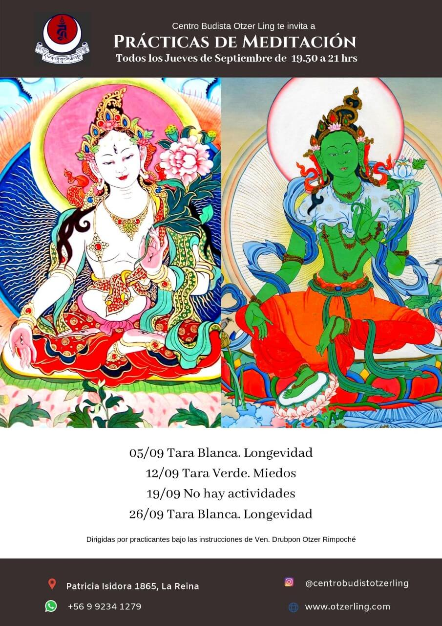 Prácticas de Meditación Budistas Tibetanas
