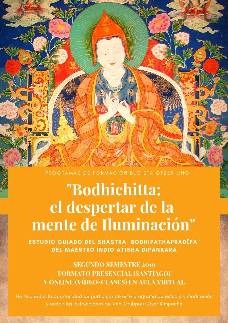 Programa de Formación Budista 3: Bodhichitta El Despertar de la Mente de Iluminación