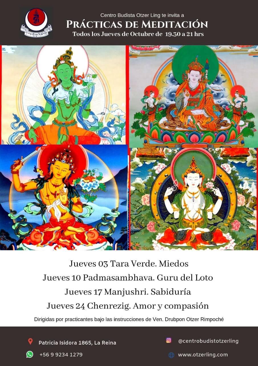 Practica de Meditacion con Sadhana y Recitacion de Mantras
