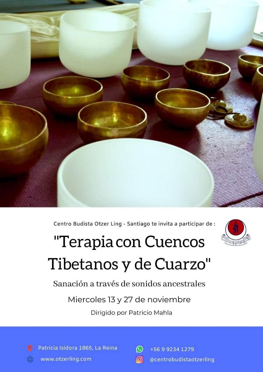 Sesion de Relajacion Meditativa con Cuencos Tibetanos y de Cuarzo