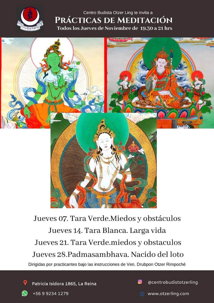 Practicas de Meditacion con Sadhana y Recitacion de Mantras