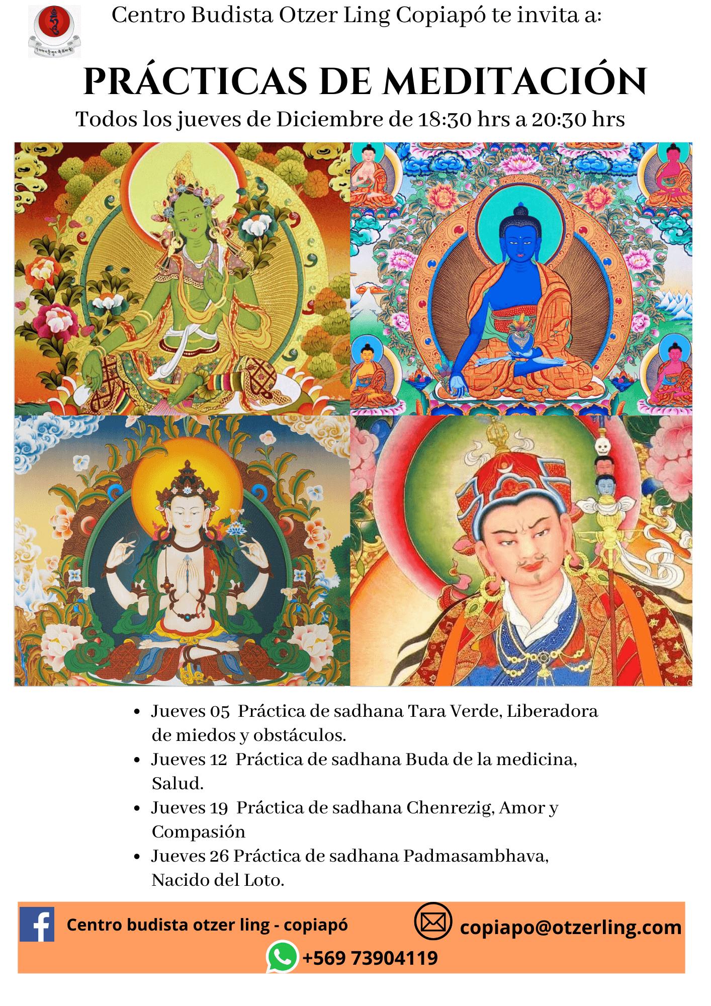 Prácticas de Meditación con Sadhana y Recitación de Mantras en Copiapó