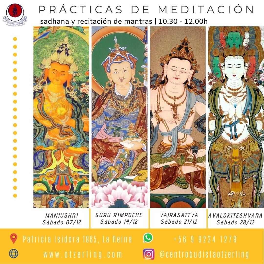 Practicas de Meditacion Sadhanas y Recitacion de Mantras