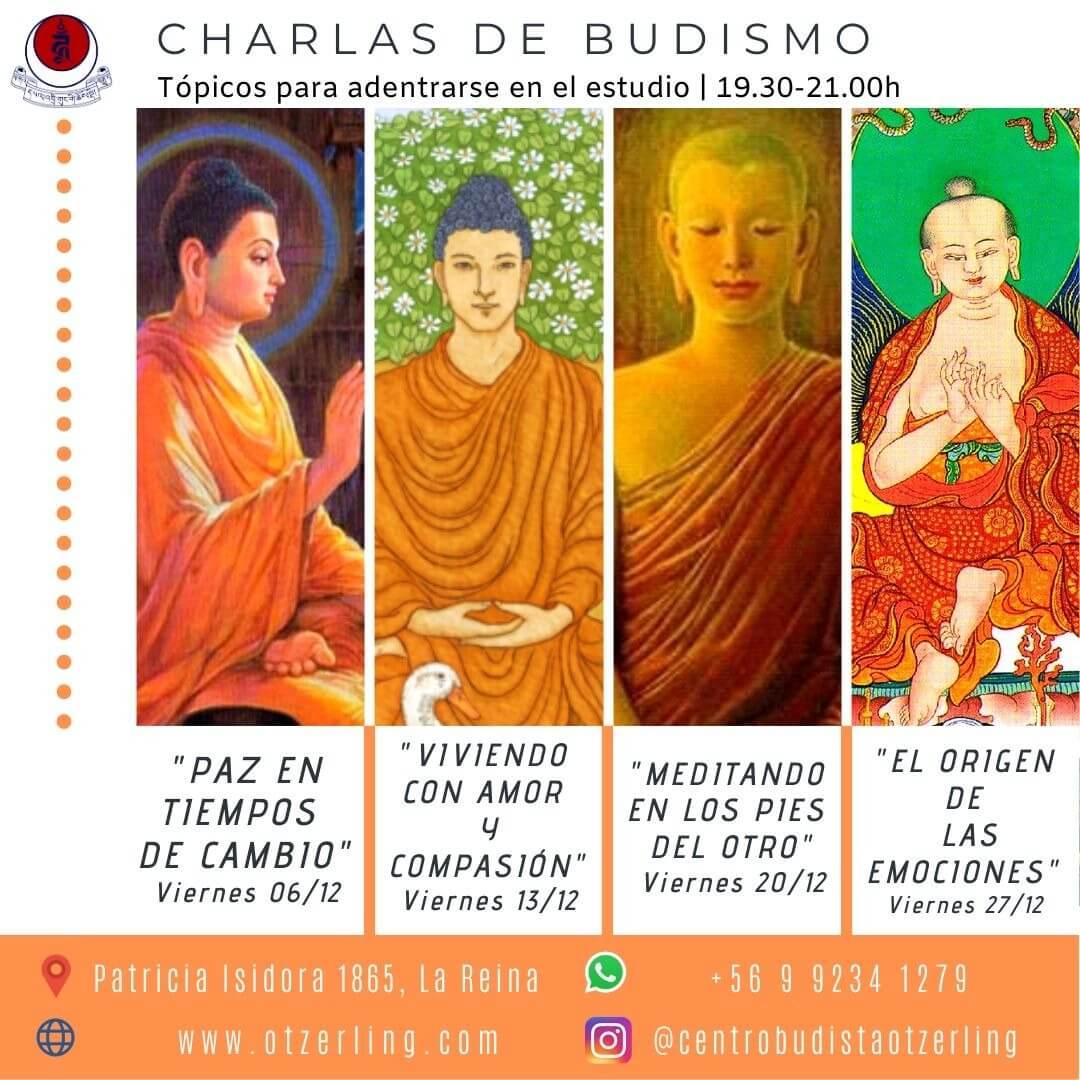 Charlas de Budismo: Topicos para Adentrarse en el el Estudio